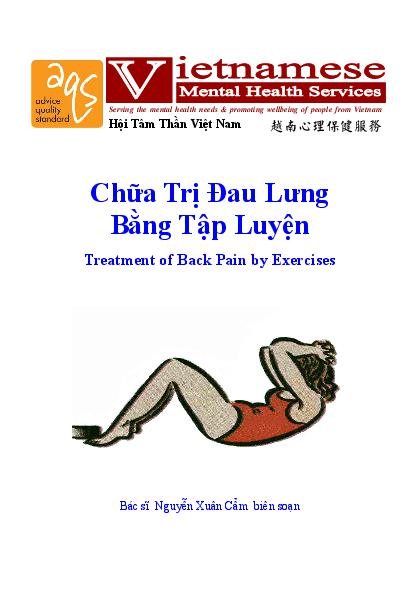 Treatment Of Back Pain By Exercises Vn